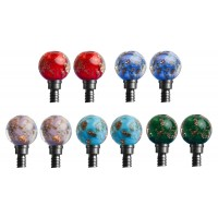 HiyaHiya Interchangeable Cable Stopper - Large, Glass Bead