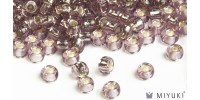 Miyuki 8/0 Glass Beads 12 - Silverlined Lilac approx. 30 grams