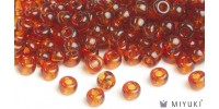 Miyuki 8/0 Glass Beads 134 - Transparent Copper approx. 30 grams