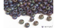 Miyuki 8/0 Glass Beads 135FR - Transparent Frost Root Beer AB approx. 30 grams