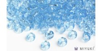Miyuki 8/0 Glass Beads 148 - Transparent Light Blue approx. 30 grams