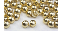 3mm All Metal Stud Buttons - Gold Rhodium 20pk - Crystaletts