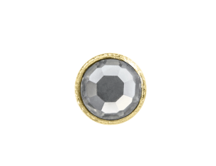 3mm Buttons Crystal with Gold Bezel 100pk - Crystaletts